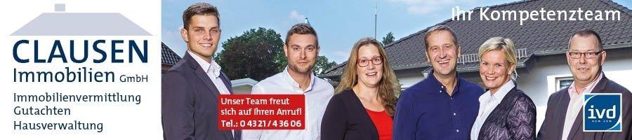 Clausen Immobilien GmbH in 24534 Neumünster