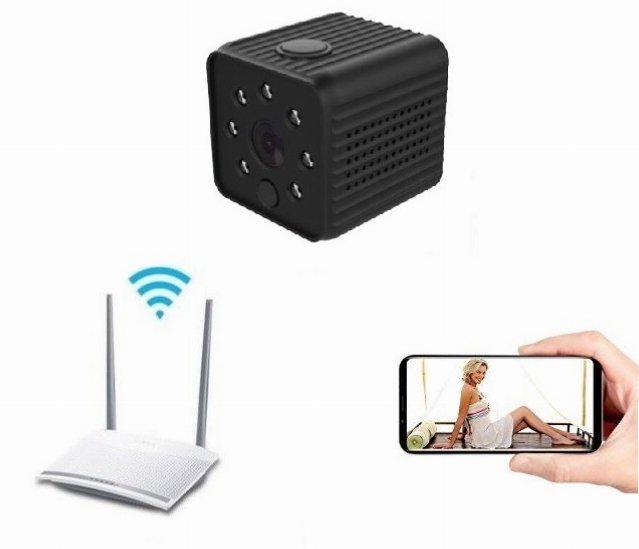 64GB Wlan Ip Netzwerk Wifi App Handy Tablet Überwachungskamera Video Bild A64