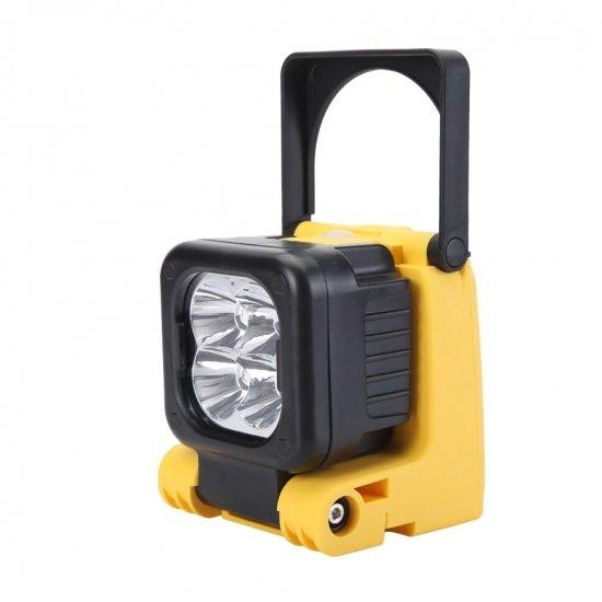 L0063 Mobile Akku LED Leuchte Strahler Fluter Baustellenlampe NEU