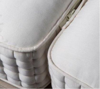 Musterbett Reduziert Boxspringbett mit 37 cm Luxusmatratze 160/20