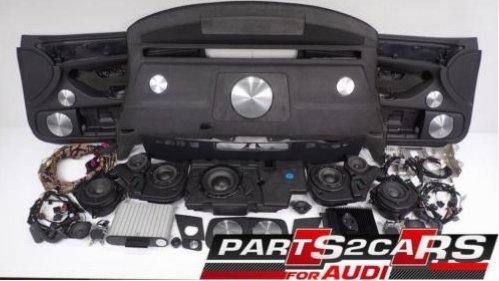 Soundsystem BANG & OLUFSEN SET AUDI S8 A8 D3 4E B&O Komplett