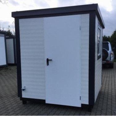 Burocontainer Wohncontainer Buro Gartenhaus 2x2 Meter In
