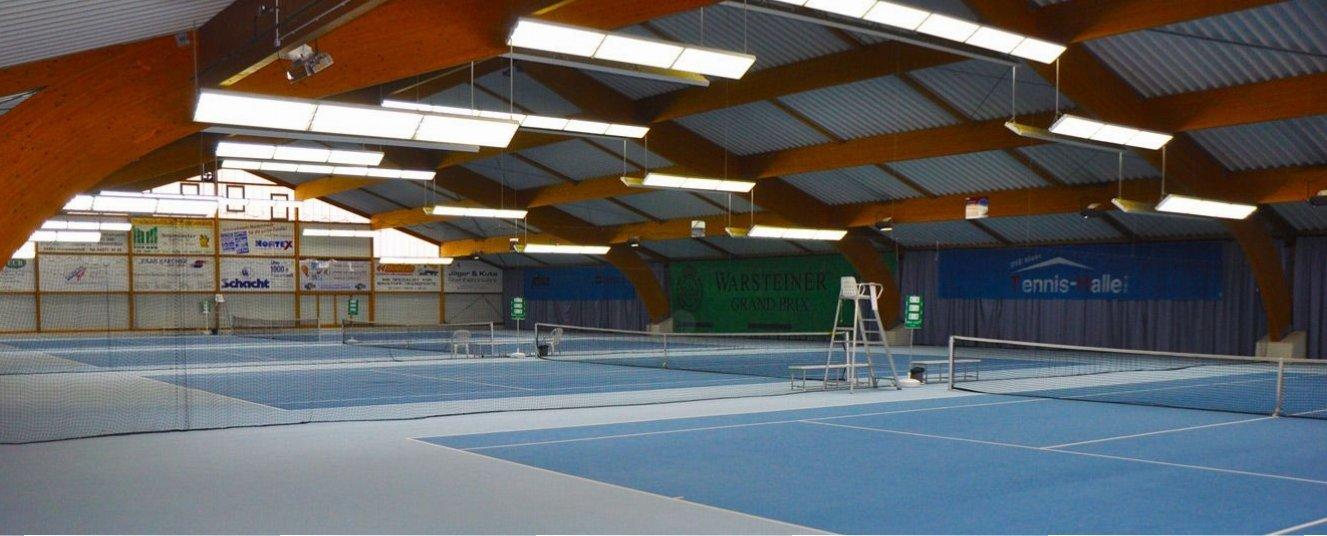 Blaue Tennishalle Nord in 24536 Neumünster
