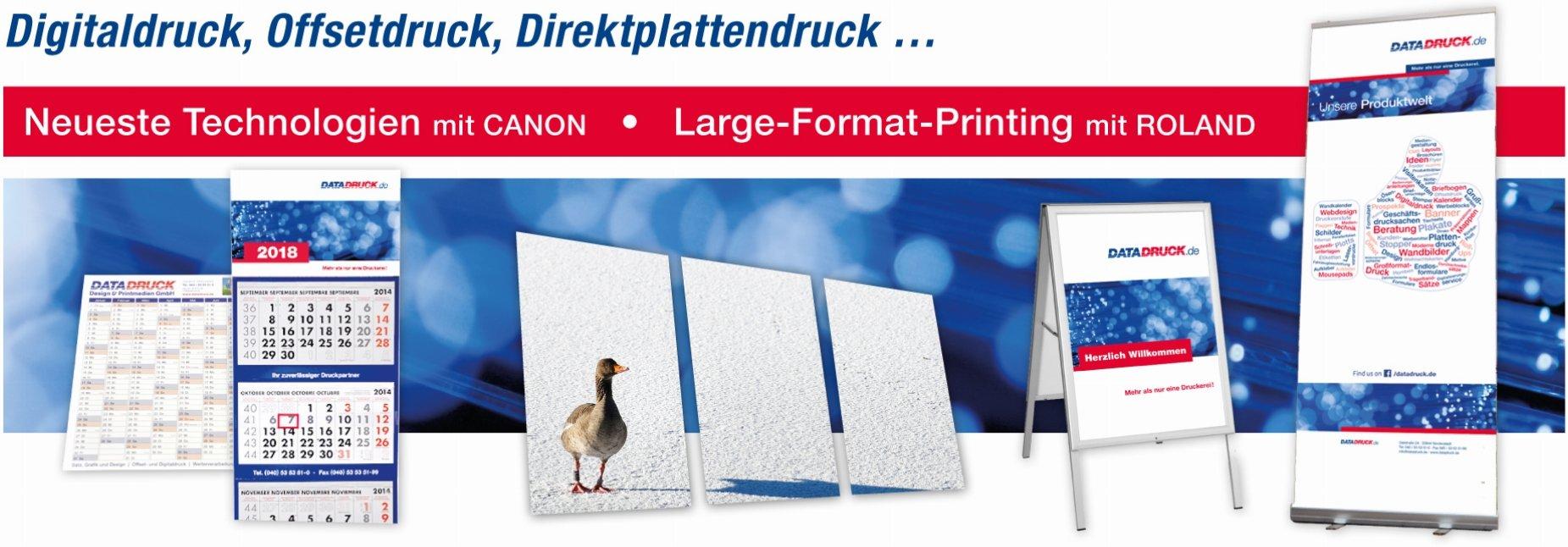 DATADRUCK Design & Printmedien GmbH & Co. KG in 22844 Norderstedt