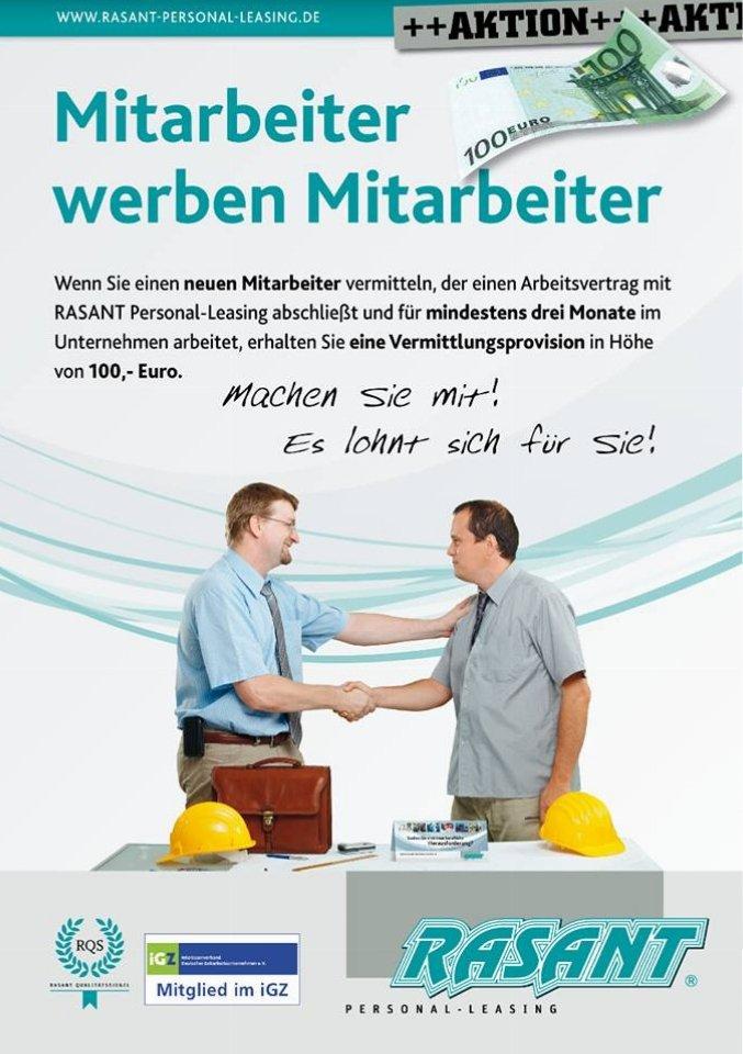 RASANT Personal-Leasing in 20097 Hamburg