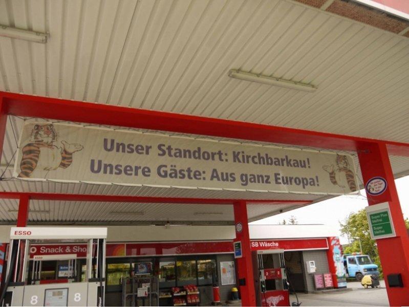 Esso - Die Tanke an der B404 in 24245 Kirchbarkau