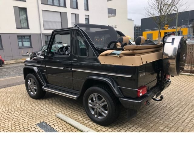 Mercedes-Benz G 500 7G-TRONIC Cabrio Final Edition 200 Neuwert