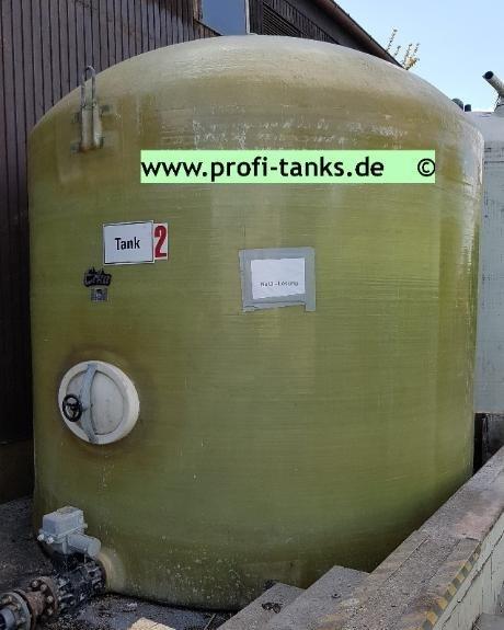 P58 Gebrauchter 20 000 L Polyestertank Gfk Tank Erka Wassertank