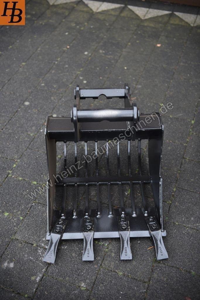 Sieblöffel mit Zähnen 50cm MS03 Symlock *NEU* HARDOX 1,7t-3t KL2