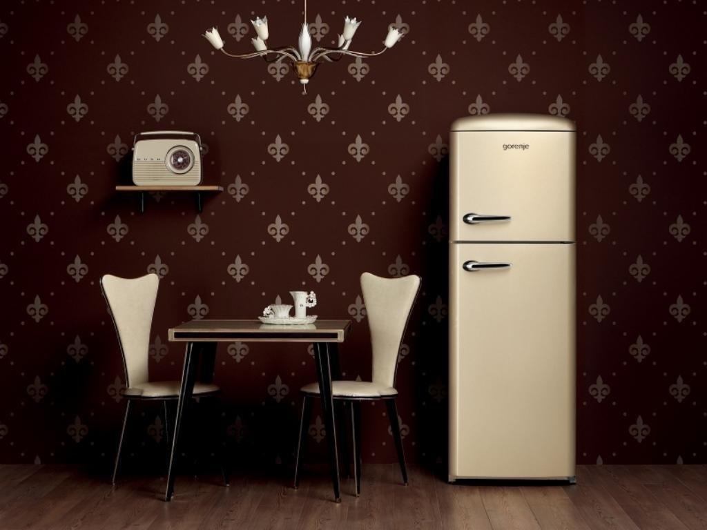 Gorenje Kühlschrank B Ware : Gorenje rf retro beige kühlschrank in