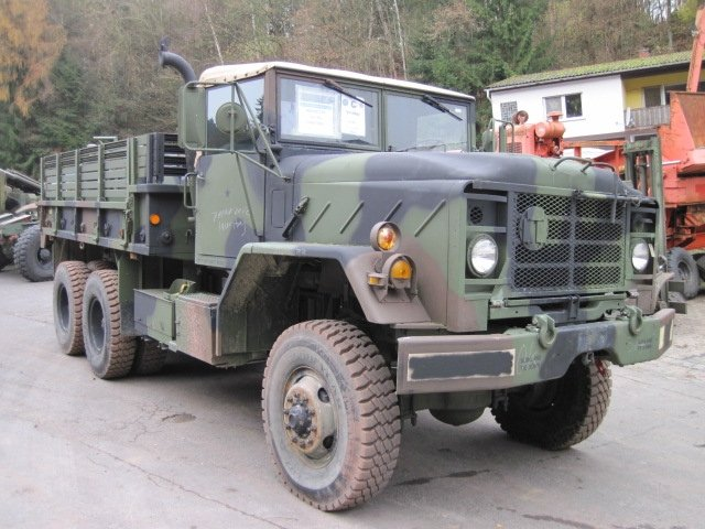 M923 AM General Crago Truck (Intern 7895)