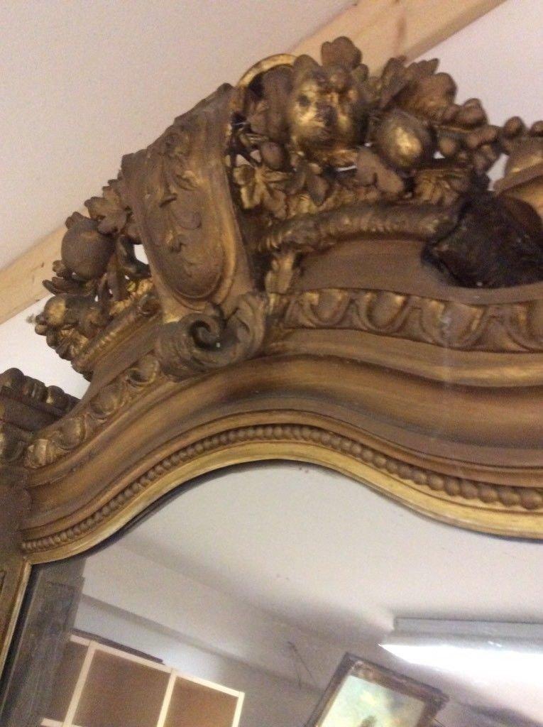 Riesiger Antiker Spiegel 280X100cm